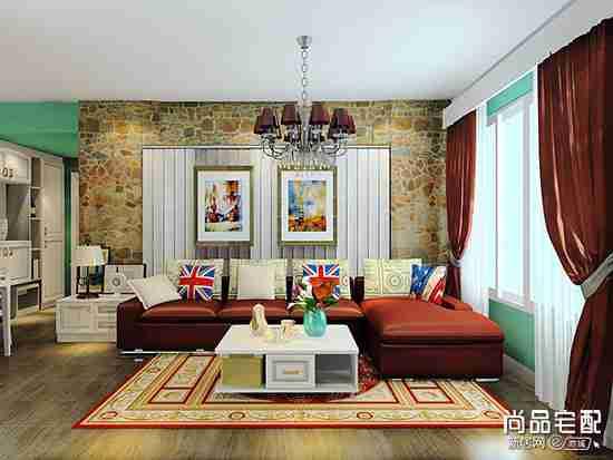 客厅背景墙壁纸怎么选?看完这个秒搭配