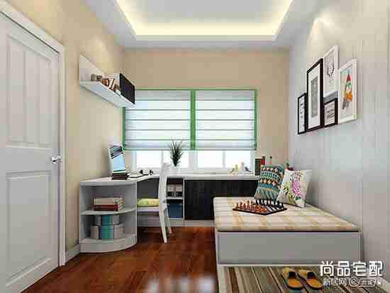 创意10平方小书房设计重要是这几点!