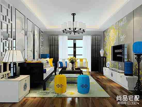 中式窗帘的特点是什么