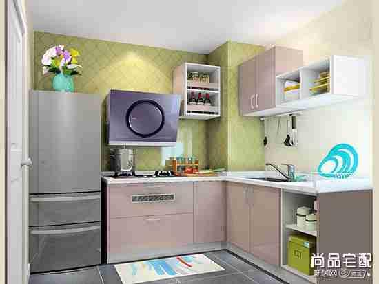 转角厨房收纳柜都有哪些方便的设计?