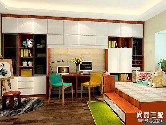 次卧改成书房,用什么风格比较好?