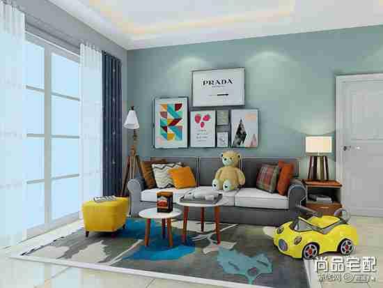 客厅弧形小房间怎么设计?
