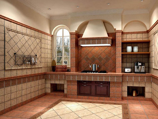 仿古砖厨卫装修东南亚风格欣赏