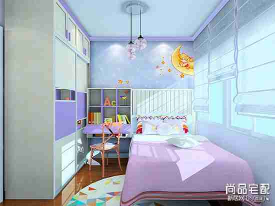 儿童房间装饰品用什么比较安全又好看?