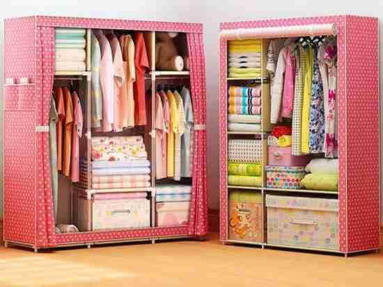 实木简易衣柜好不好?