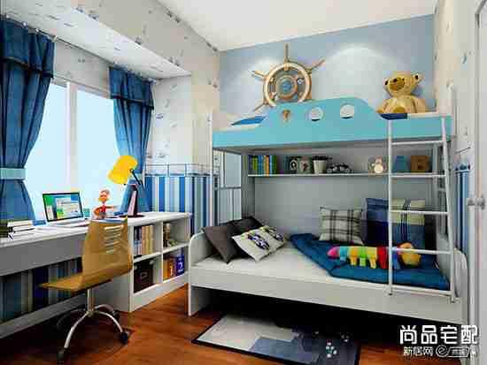 欧式9平方儿童房装修效果图