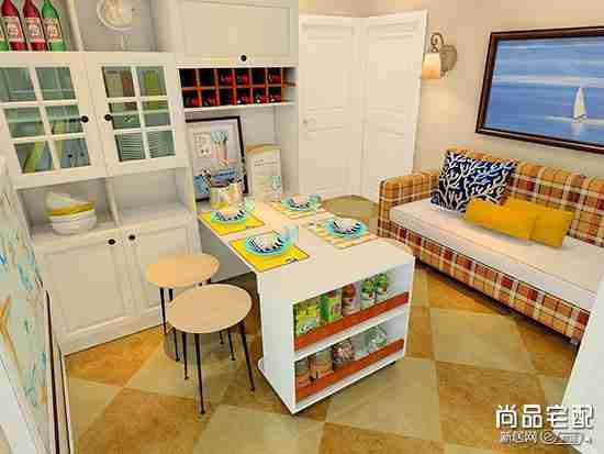 简约折叠餐桌都有哪些款式好看?