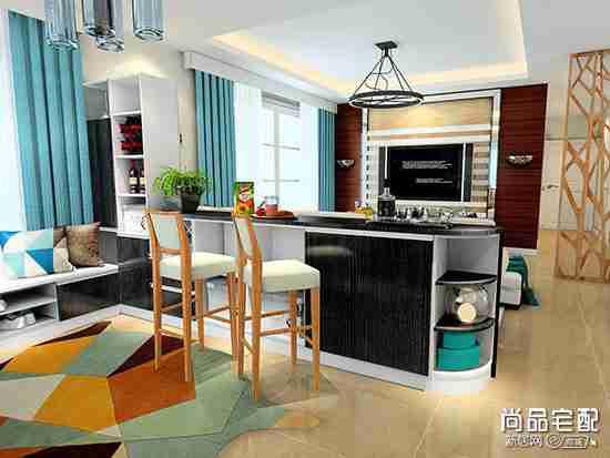 中式客厅和餐厅隔断好的设计有哪些?