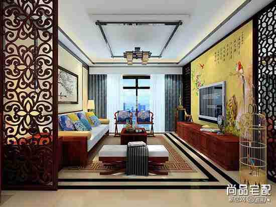 中式简约实木电视柜好吗?