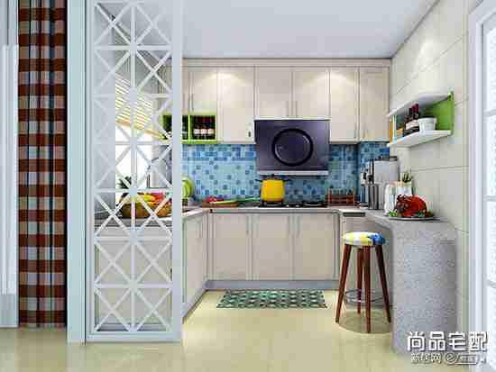 简约厨房吧台怎么设计比较好?