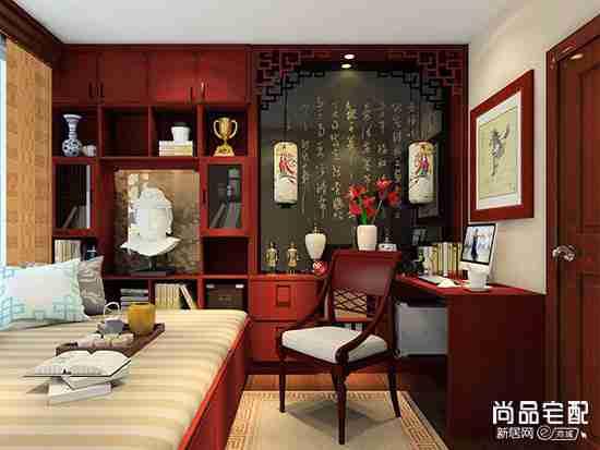 现代中式书房门头设计有哪些?