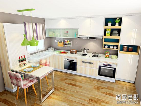 半开放式厨房吧台设计