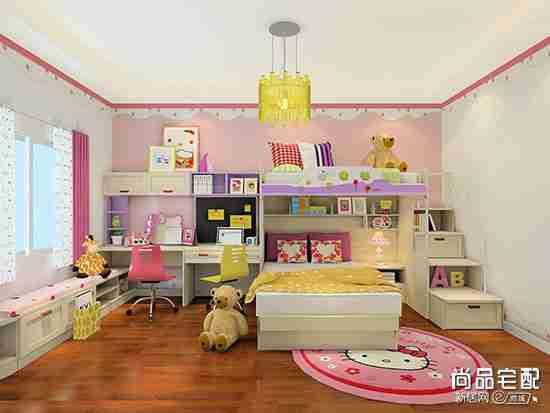 儿童卧室上下床设计好不好?都有哪几种?