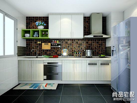 普通厨房装修效果图