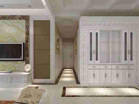 装修设计客厅过道门的风水和价格方面要注意什么