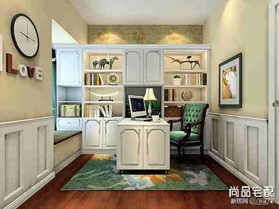 韩式风格书房装修图片