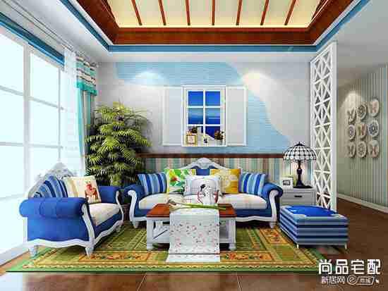 新古典客厅沙发好搭吗?