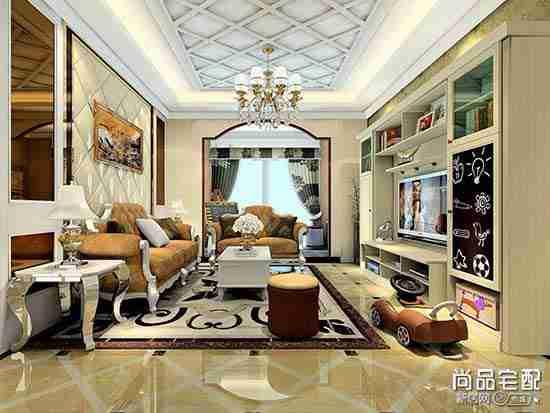 白色欧式小房电视柜怎么选?