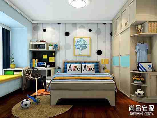 儿童房间布置简单好吗?用哪些道具比较好?