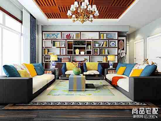 灰色的沙发配什么颜色的地毯