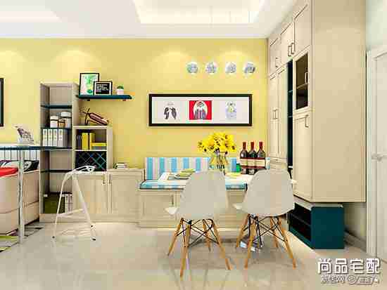 客厅与餐厅酒柜隔断怎么设计比较好?