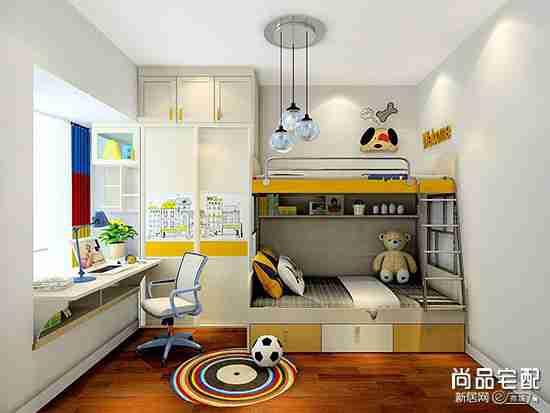 9个平方儿童房间设计怎么弄?