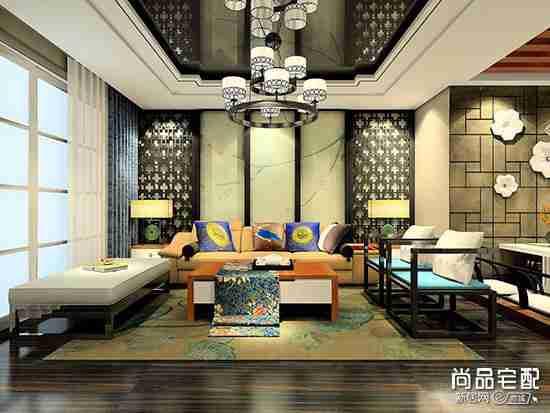 中式客厅兼书房靠谱吗