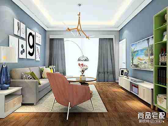 白色沙发配什么颜色地毯