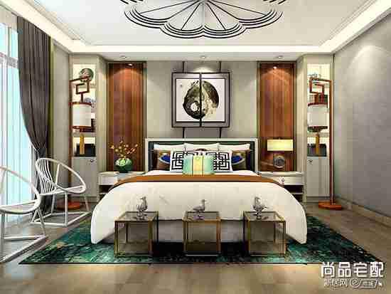 卧室床头背景墙墙纸怎么选?
