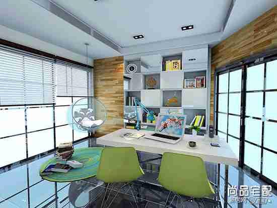 厨房改造成书房可以吗?