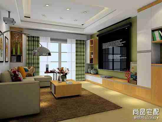 仿古瓷砖客厅用好看吗?