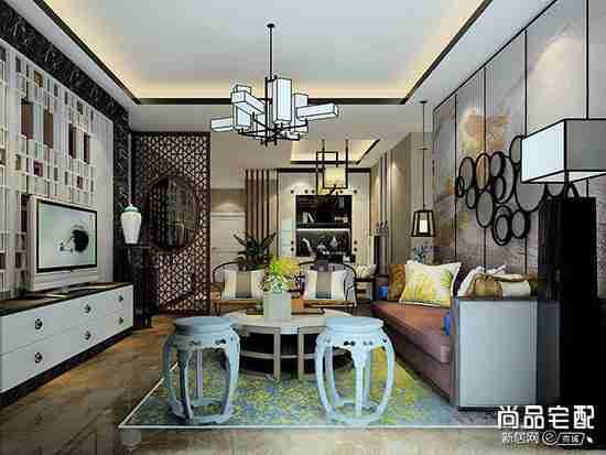 中式仿古灯具客厅一般用哪种?