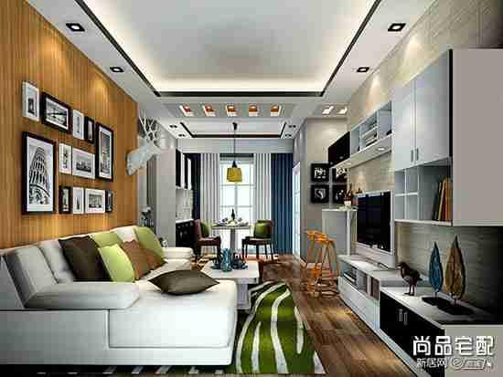 客厅电视墙装修材料用哪些比较靠谱?