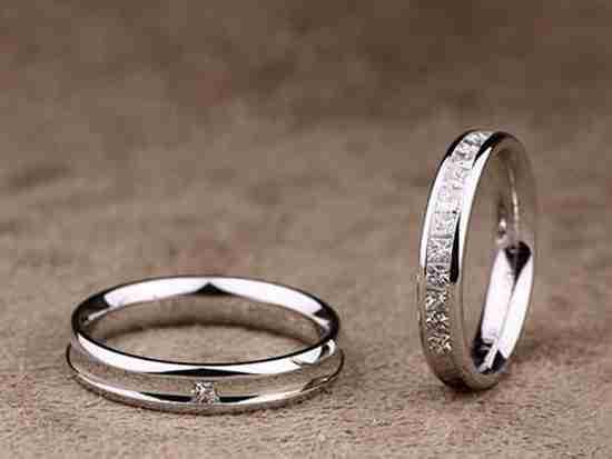 结婚戒指碎钻怎么样