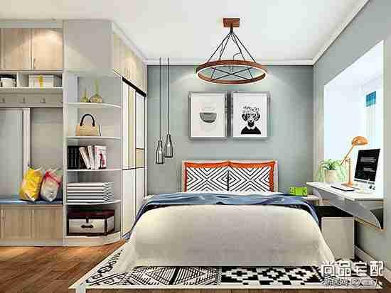主卧室最简单背景墙怎么设计比较好看?