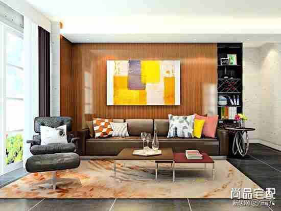 客厅背景墙装饰画用哪些比较好?