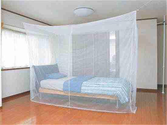 卧室设计和蚊帐床
