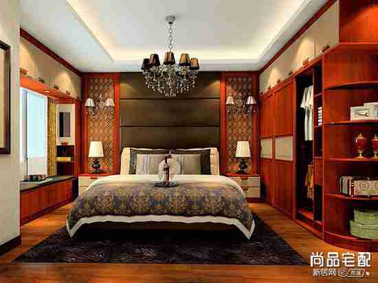 卧室收纳柜设计图欣赏