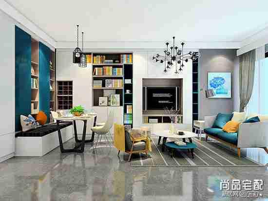 客厅电视柜家具组合有几种?