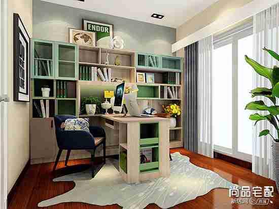 小书房简装用哪种方案比较好?