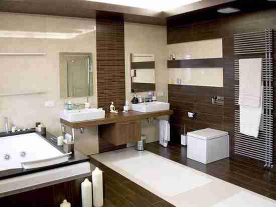 卫生间浴室柜效果图