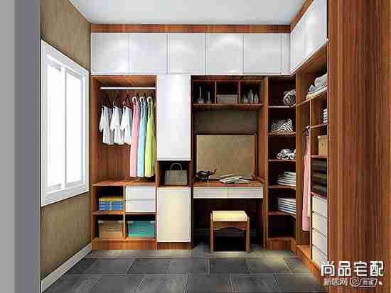 卧室开放式衣帽间设计款式有哪些