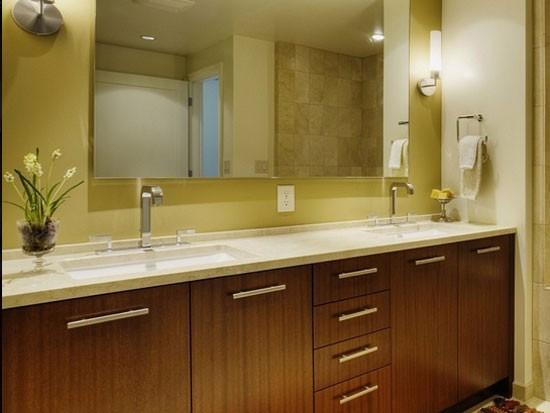 卫生间整体浴室柜好吗