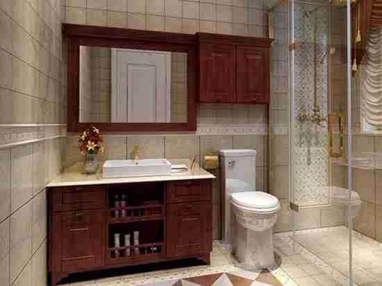 中档橡木浴室柜怎么样