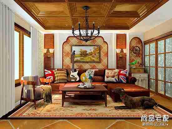 简装房客厅窗帘用哪种?
