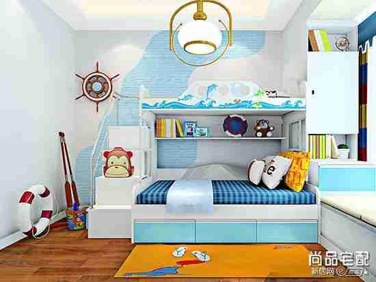 小户型双胞胎儿童房怎么装修?