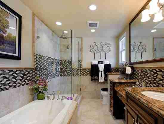 卫生间淋浴房效果图欣赏