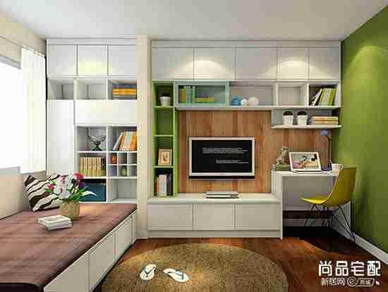 卧室与书房的设计怎么弄