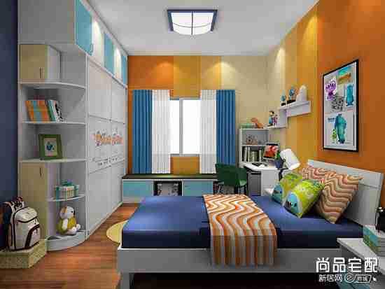 儿童卧室吊顶设计怎么做