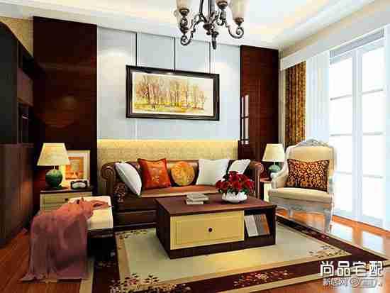 客厅单人布艺沙发图片大全